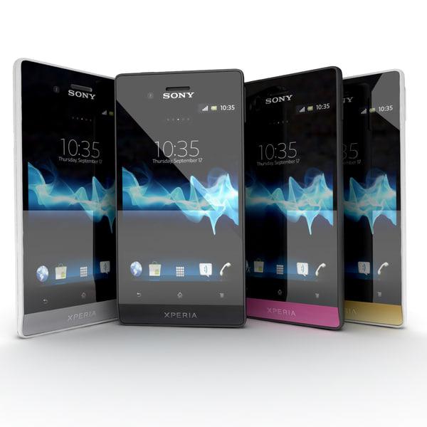 max sony xperia miro smartphone