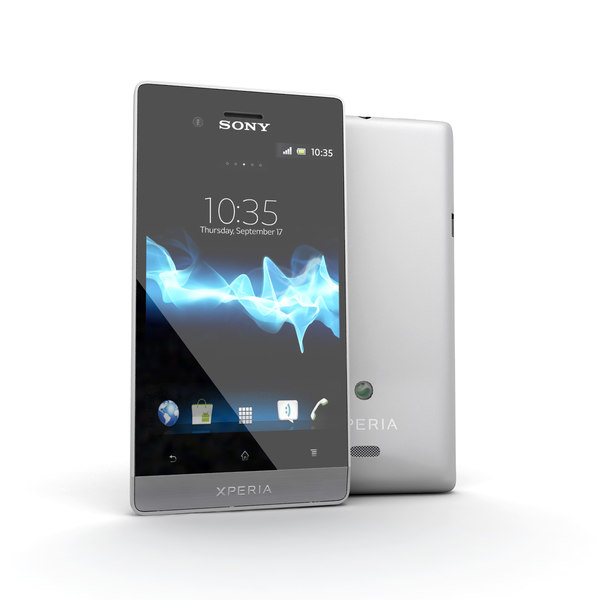 new sony xperia miro 3d model - New Sony Xperia Miro Smartphone White... by Leeift