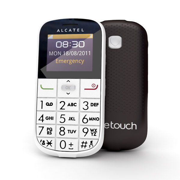 3d alcatel onetouch 282 model