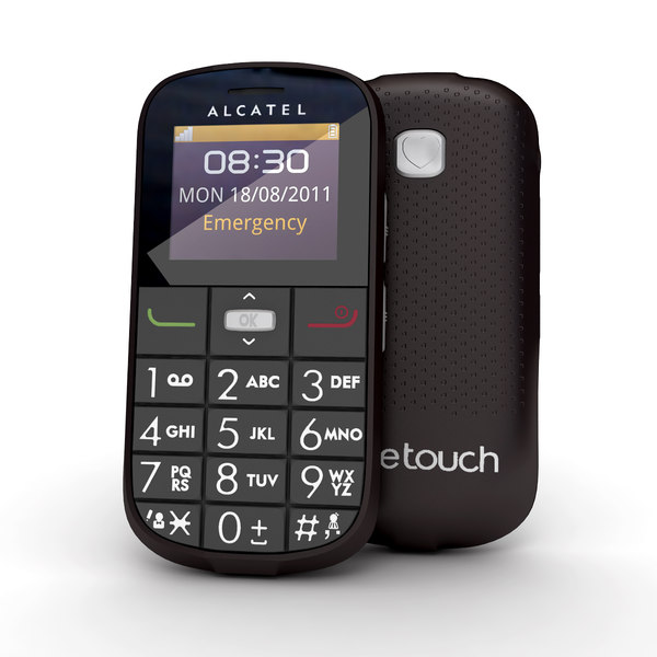 3d model of alcatel onetouch 282 black - Alcatel Onetouch 282 Black... by Leeift