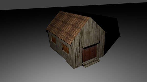 pack houses buildings fbx