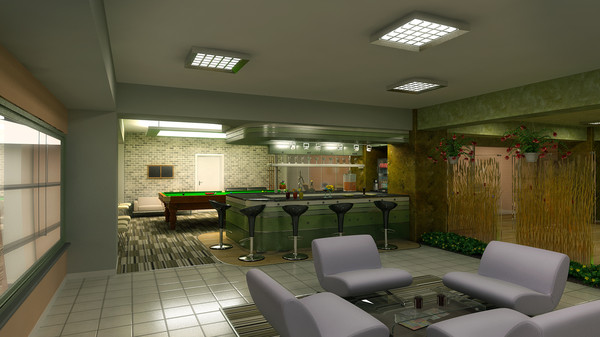 3d waiting saloon car interior - Waiting Saloon... by solarseas