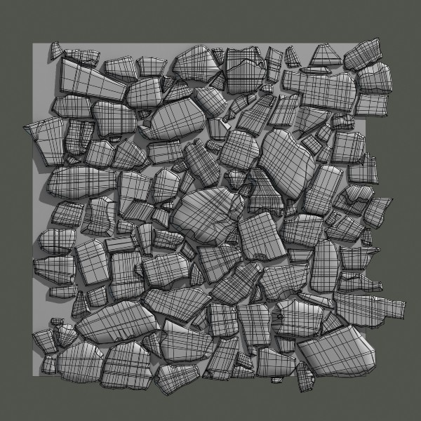 paving stones 08 3d max - Stones #08... by Gametexture