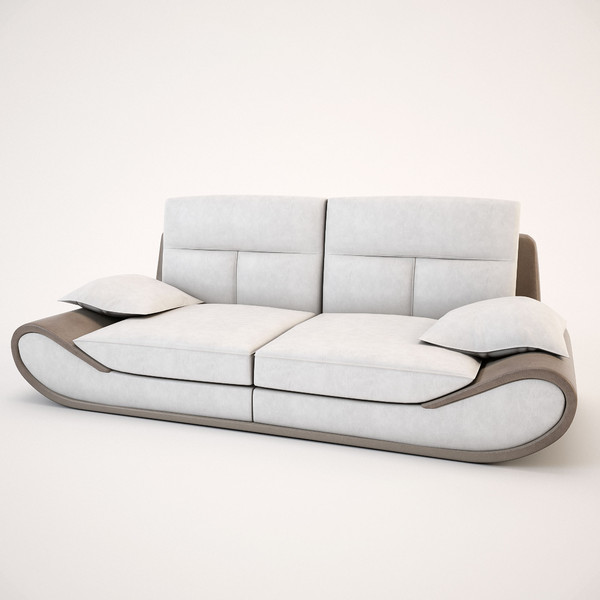 Leather Couches New Zealand: 3d Model Sofa Satis New Zealand