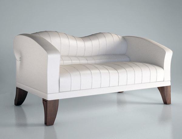 3ds max giorgetti sofa