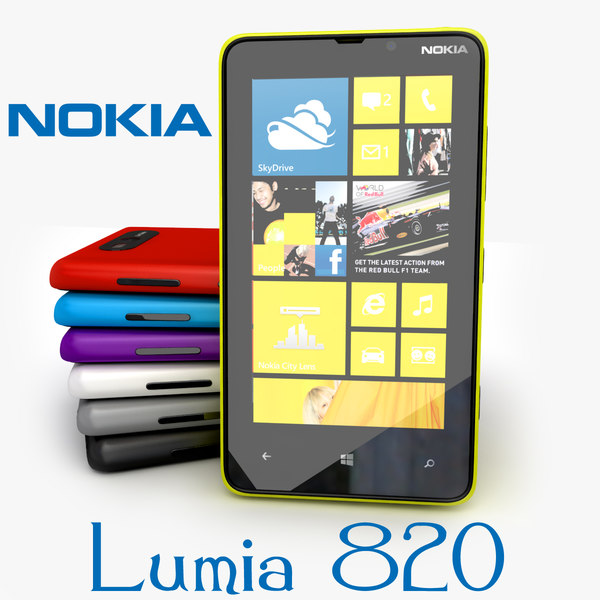 new nokia lumia 3d model