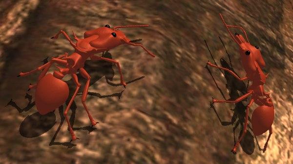 daceton ants c4d