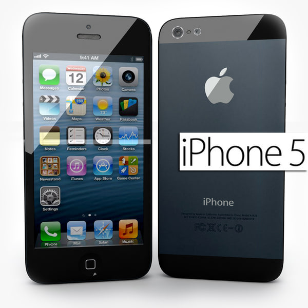 new apple iphone 5 3d 3ds - Brand New Apple iPhone 5... by Leeift