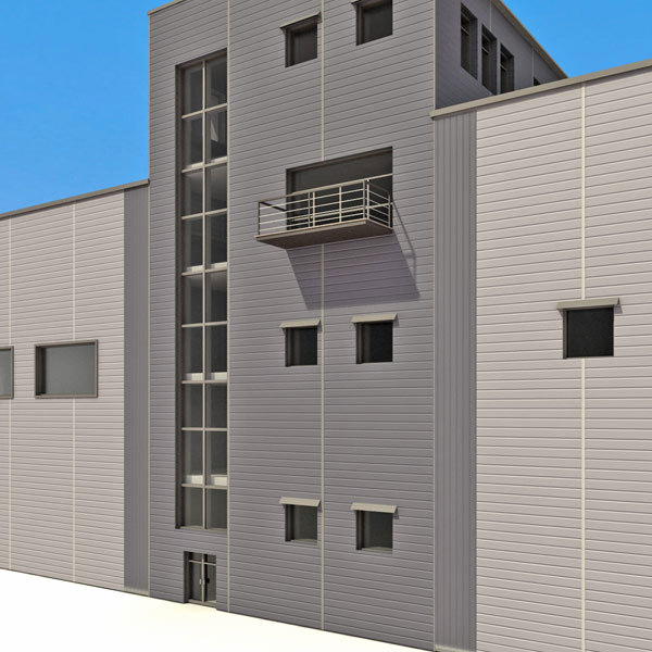 3d warehouses industrial collections - Warehouse Industry Collection Industrial... by 3D_Multimedia