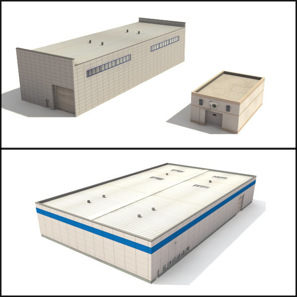 3d warehouses buildings 3 collections
