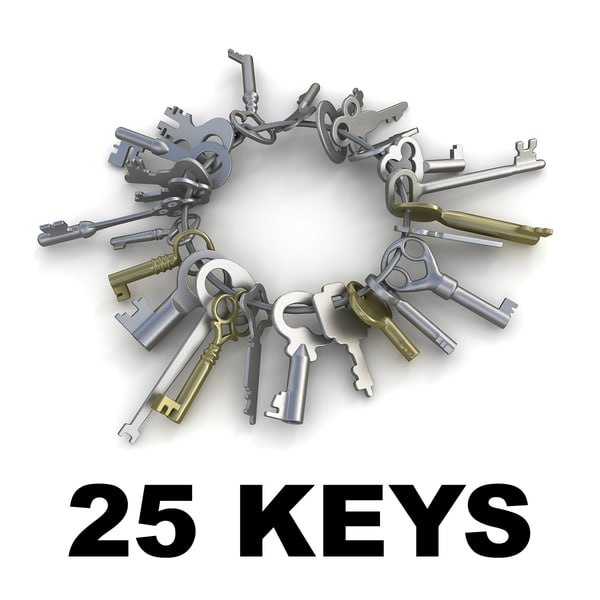 25 Keys collection