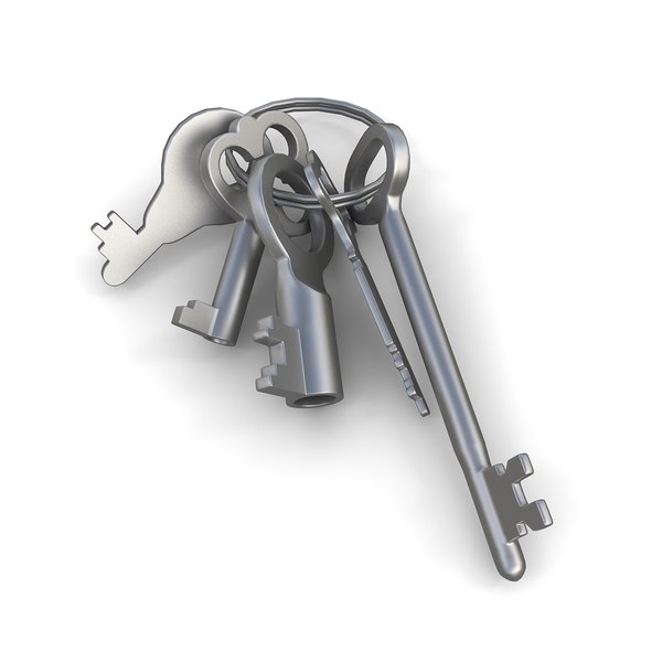 keys chain 3d model