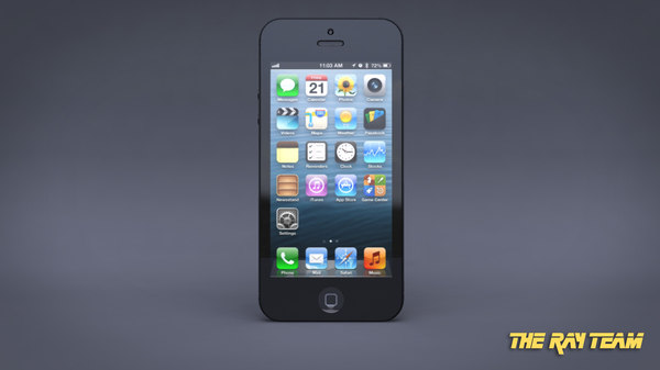 maya iphone 5 - iPhone 5... by The Ray Team