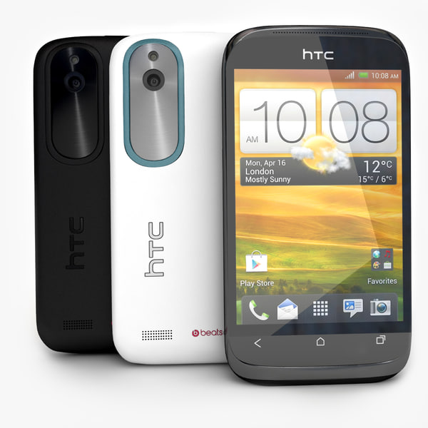HTC Desire X Black and White