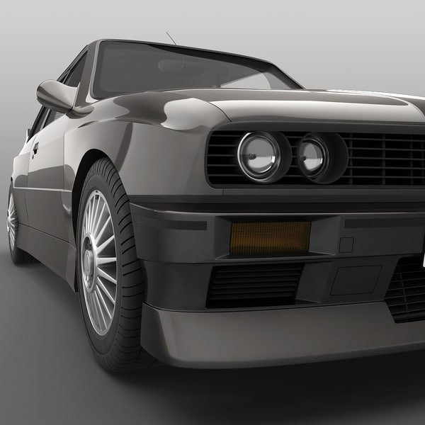 car 7 bmw 3 3d model - Cars Collection 7... by 3d_molier