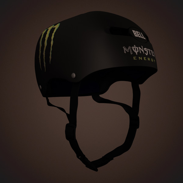 bell helmet monster edition max - Bell Helmet Monster Edition... by nitacawo