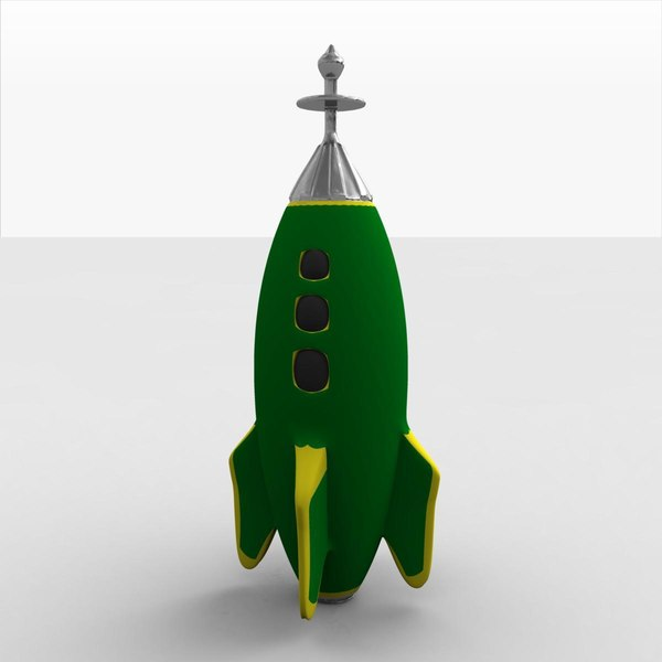 Toy Rocketship B