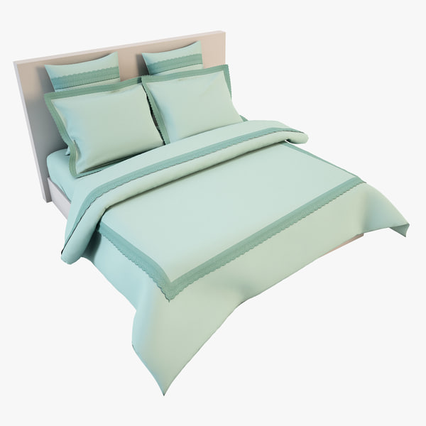 bedcloth 20 3d model