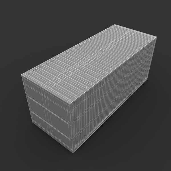 3ds max fedex cargo trade container - Fedex Cargo Trade Container for Trucks, Ships or Planes... by Leeift