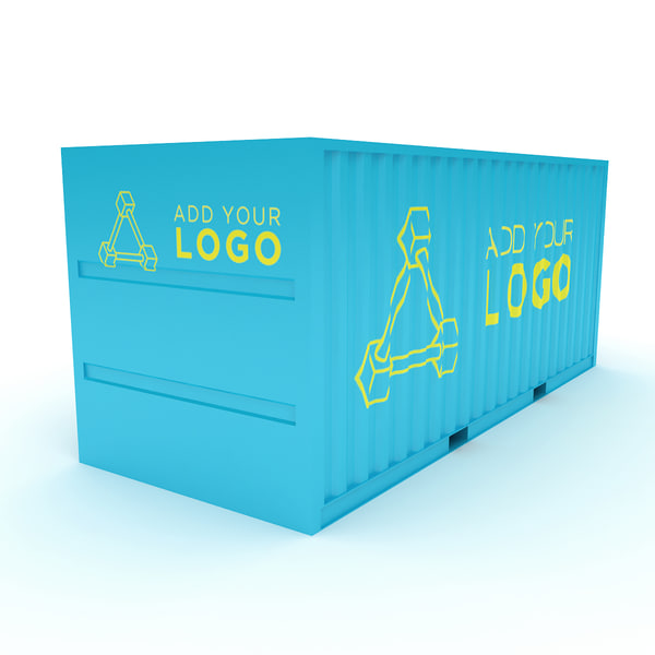 max cargo trade container trucks - Your Logo Cargo Trade Container for Trucks, Ships or Plane... by Leeift