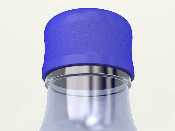 bottle water plastic 3d model - Plastic Bottle for Water Coolers... by Monaco Felice