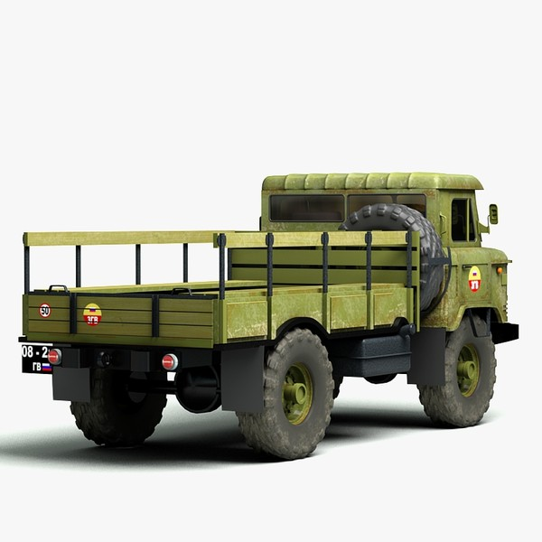 3d model russian gaz66 truck - GAZ 66... by Sandu_Bublic