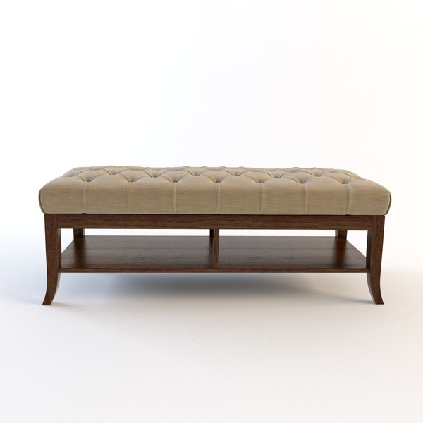 3d stanley furniture - hudson - Stanley furniture - Hudson street bed end bench... by renekorda