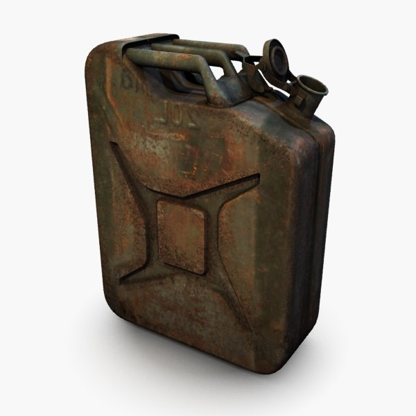 3ds max gas can - Jerry Can... by csirkeFrs