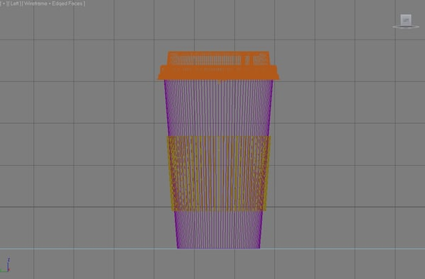 3d max starbucks coffee cup - Starbucks Cup... by BekaBeka