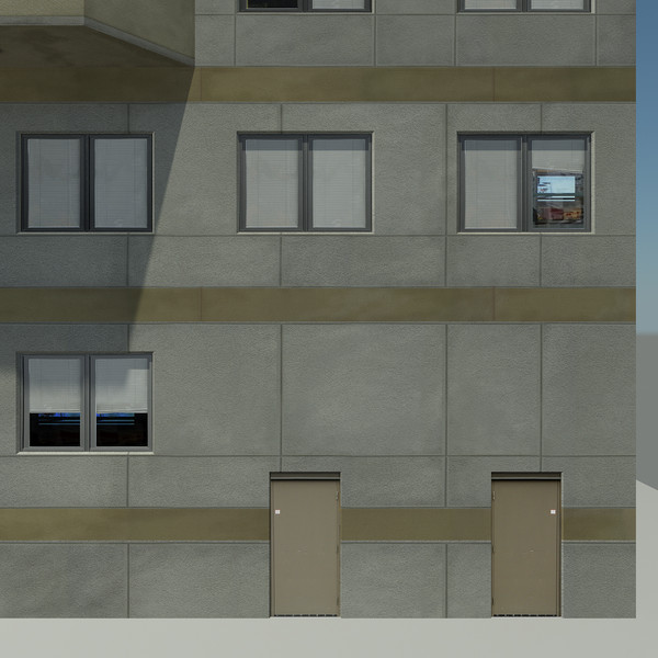 3d building aa3 modern skyscraper - Building Collection AA3 - Modern City Skyscraper... by Mister A