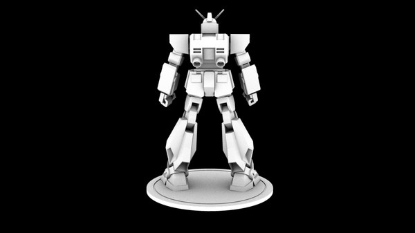 gundam rx-78nt-1 alex 3d model - Gundam... by kailon