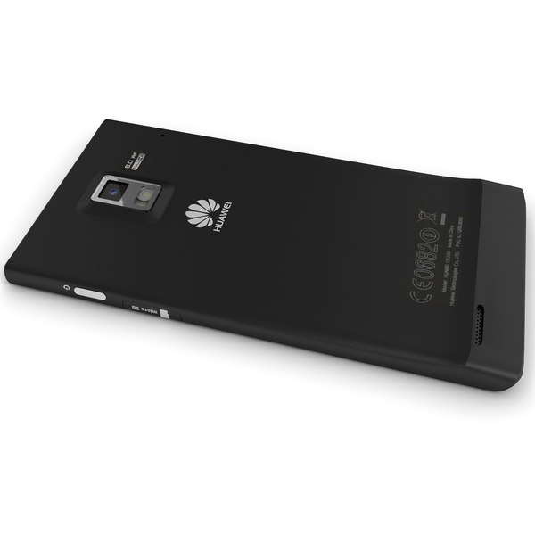 huawei ascend p1 black obj - Huawei Ascend P1 Black Color... by Leeift