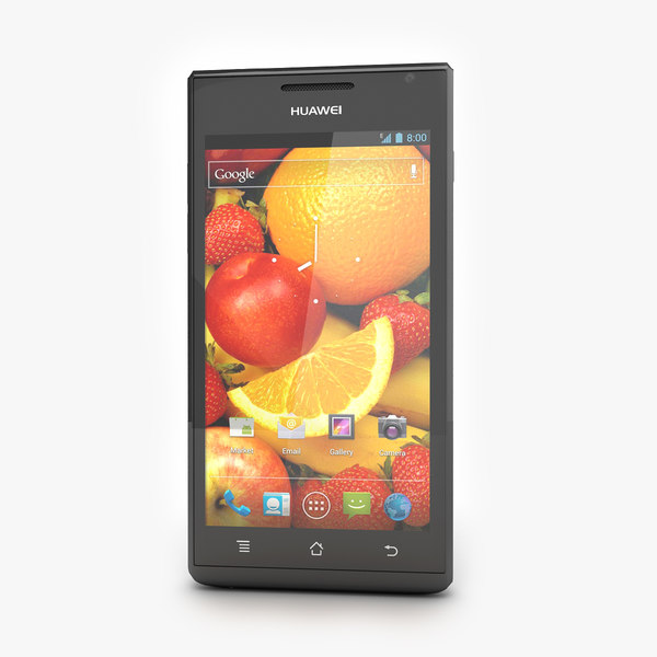 Huawei Ascend P1 Black Color