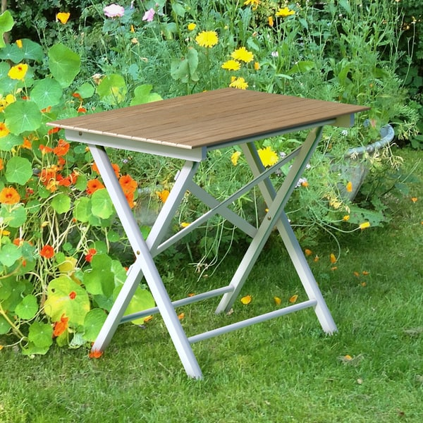 3d wooden garden table fold model - Animated Folding Table... by PictureFactory