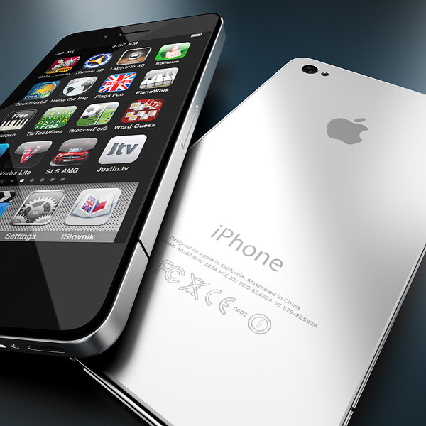 new iphone 4 4s 3d model