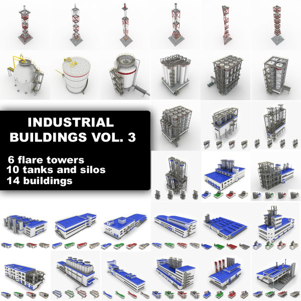industrial buildings vol 3 3d max