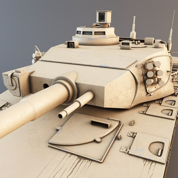 3d amx-40 french main battle tank - AMX-40 French Main Battle Tank 2... by 3d_molier