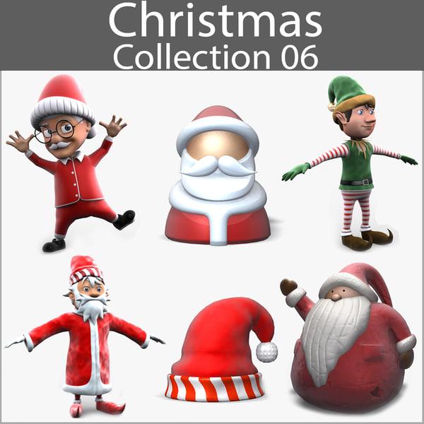 3d model of christmas 06