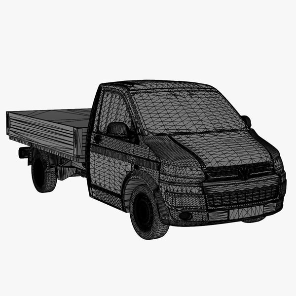 t5 single cab 2012 3ds - VW T5 Single Cab 2012... by DreiDe
