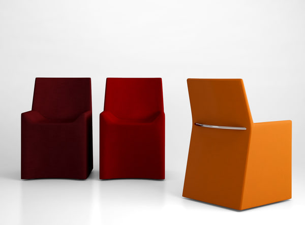 porro soft chair 3d model