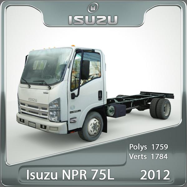 Isuzu NPR 75L 2012