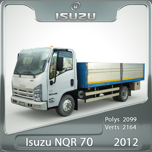 isuzu nqr 70 flatbed 3ds - Isuzu NQR 70 flatbed 2012... by be fast
