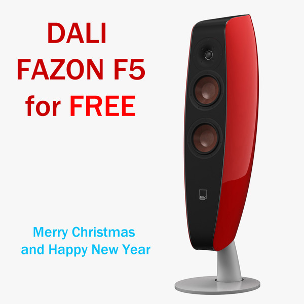 free dali fazon f5 3d model - Dali Fazon F5... by m600maxx
