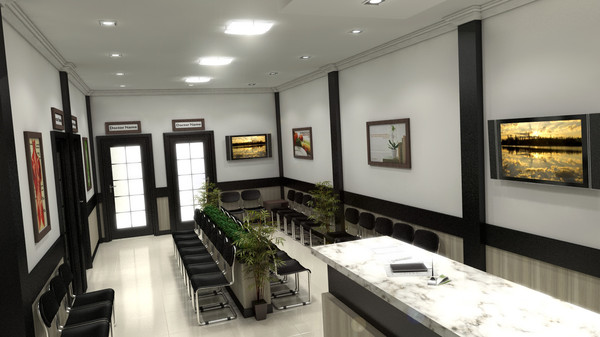 interior lobby waiting room 3d max - interior doctor lobby... by Coreindesign