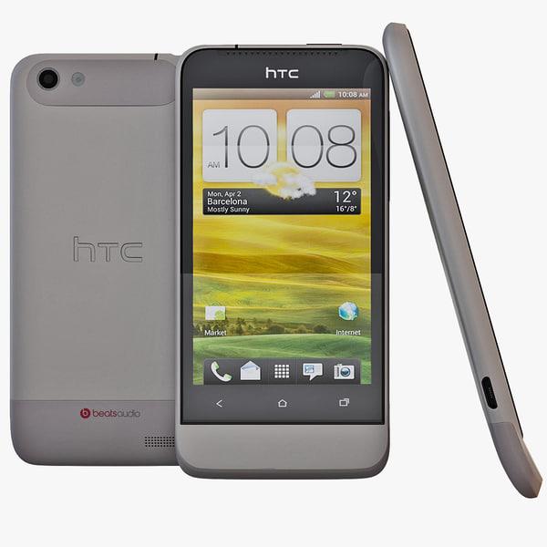 3d grey htc v model