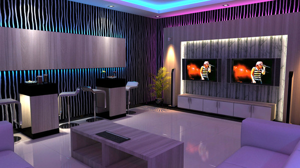 3d model karaoke room ktv for Karaoke room design ideas