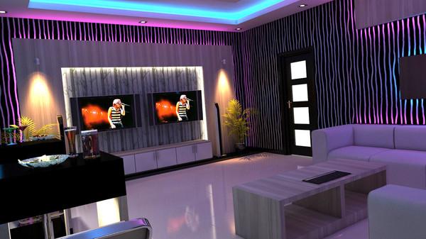 Dining set ixit 360 3d model for Design room karaoke