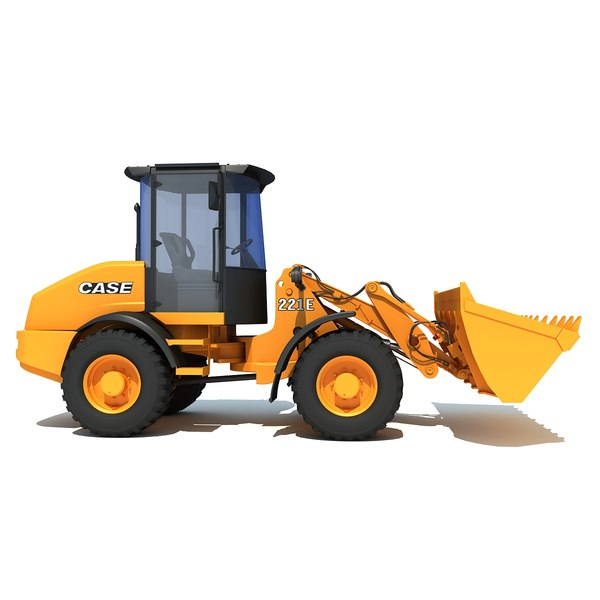 maya case wheel loader