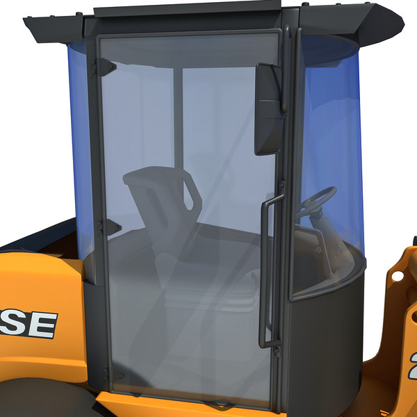 maya case wheel loader - Case Wheel Loader... by Gandoza
