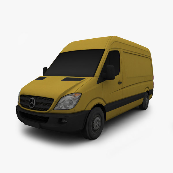 3d mercedes benz sprinter van